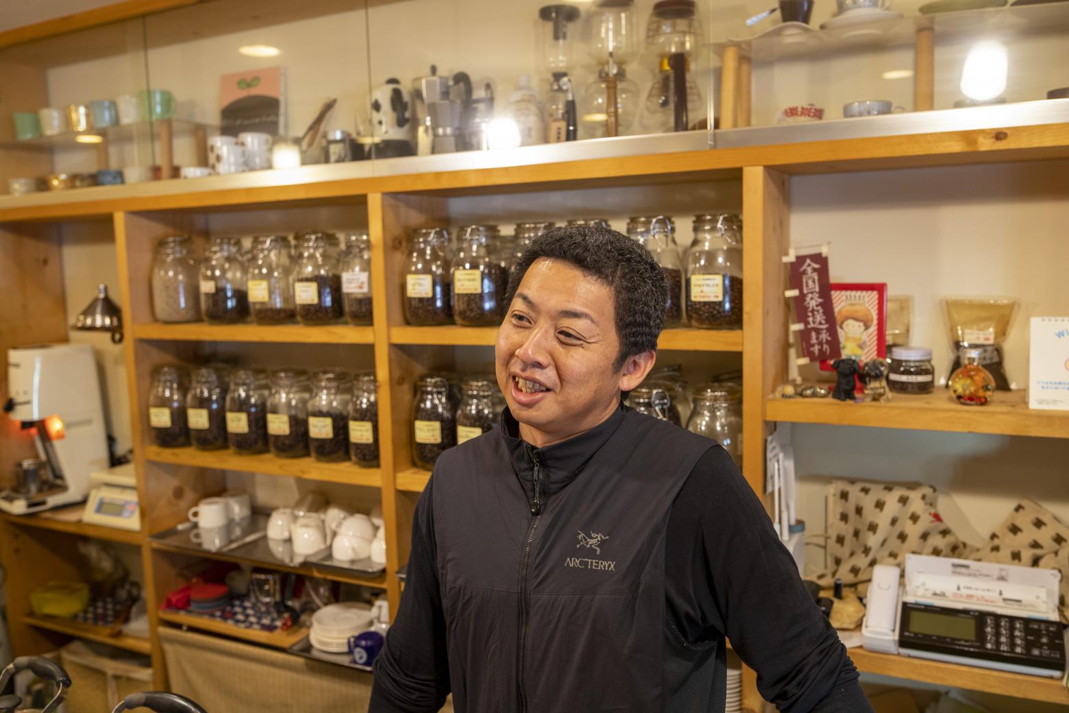 オーナーの松浦周平さん