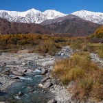 11月は空気が澄んでいて山の景色を楽しむのに最適