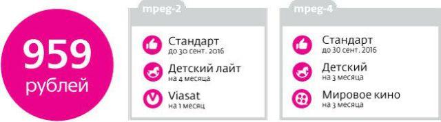 Акция Дачный Сезон от Телекарты Стандарт
