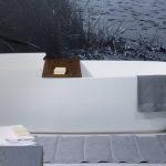 Цветные ванны из искусственного камня