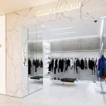 Новые корнеры Saint Laurent в ДЛТ