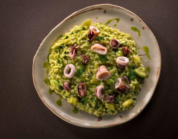 zucchini risotto_ La Fabbrica(2)