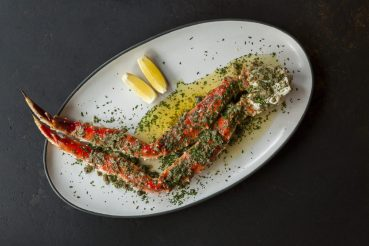 The Ledge - King Crab and Garlic Brown Butter