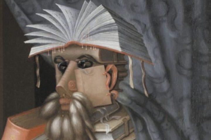 Книги на картинах