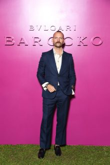 ROME, ITALY - SEPTEMBER 14: Alessandro Borghi attends Bulgari Barocco on September 14, 2020 in Rome, Italy. (Photo by Daniele Venturelli/Getty Images for Bulgari)