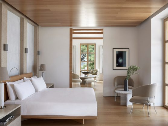 Amanzoe, Greece - Accommodation, Villas, Villa 31, Bedroom