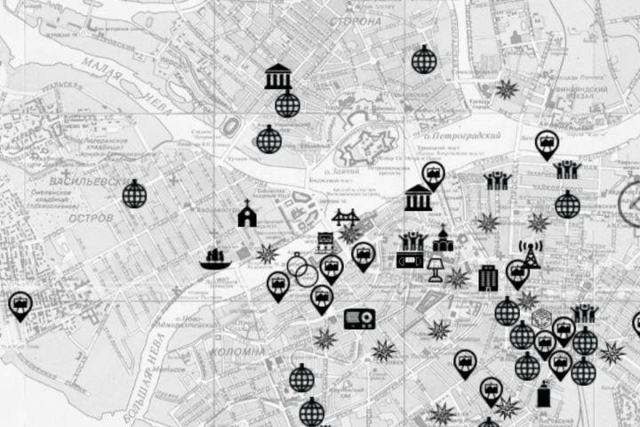 Интерактивная карта Петербурга