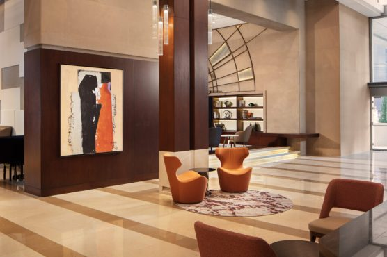 Lobby at the Sheraton Istanbul Levent