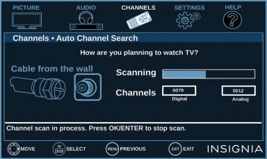 Auto Scan Not Finding Channels | AntennaJunkies com