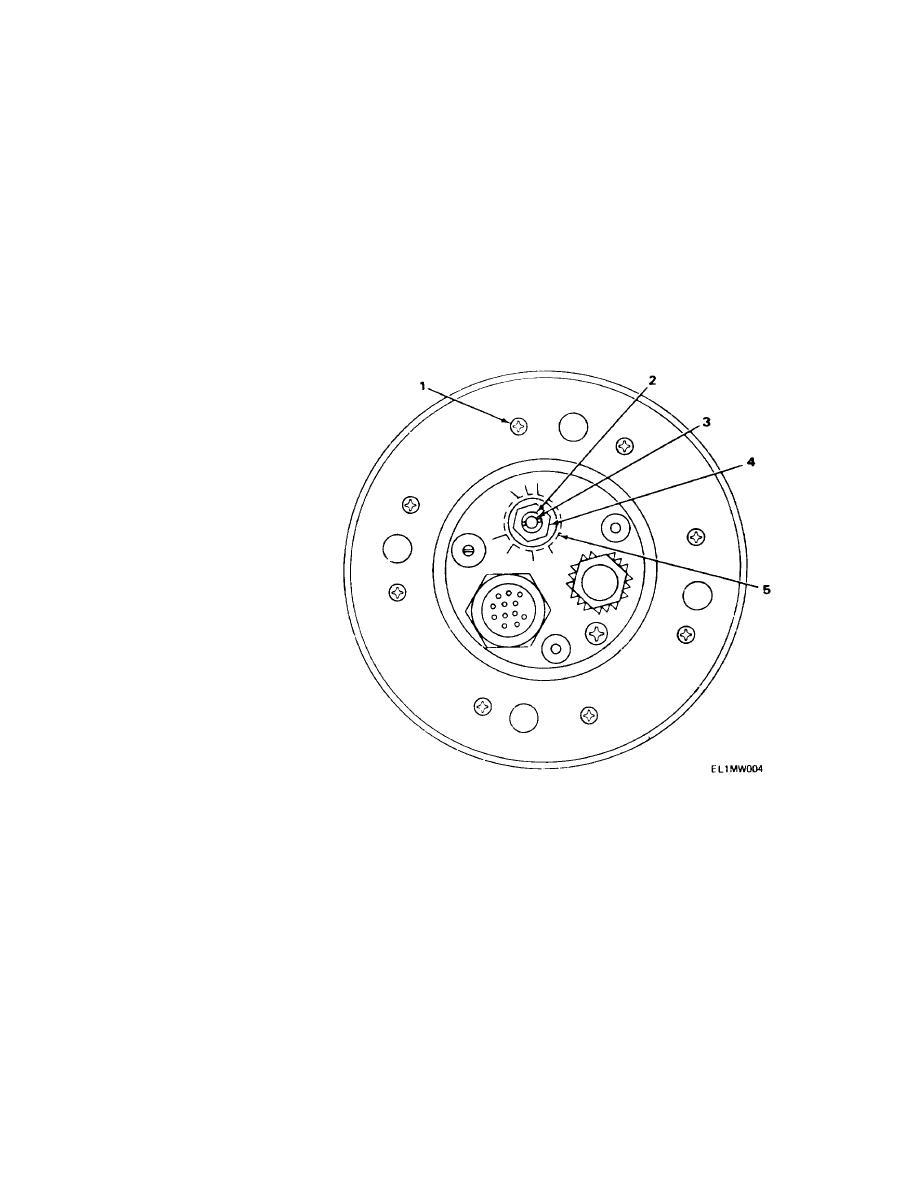 FIGURE 3. MATCHING UNIT BASE, ANTENNA MX-6707/VRC, BOTTOM