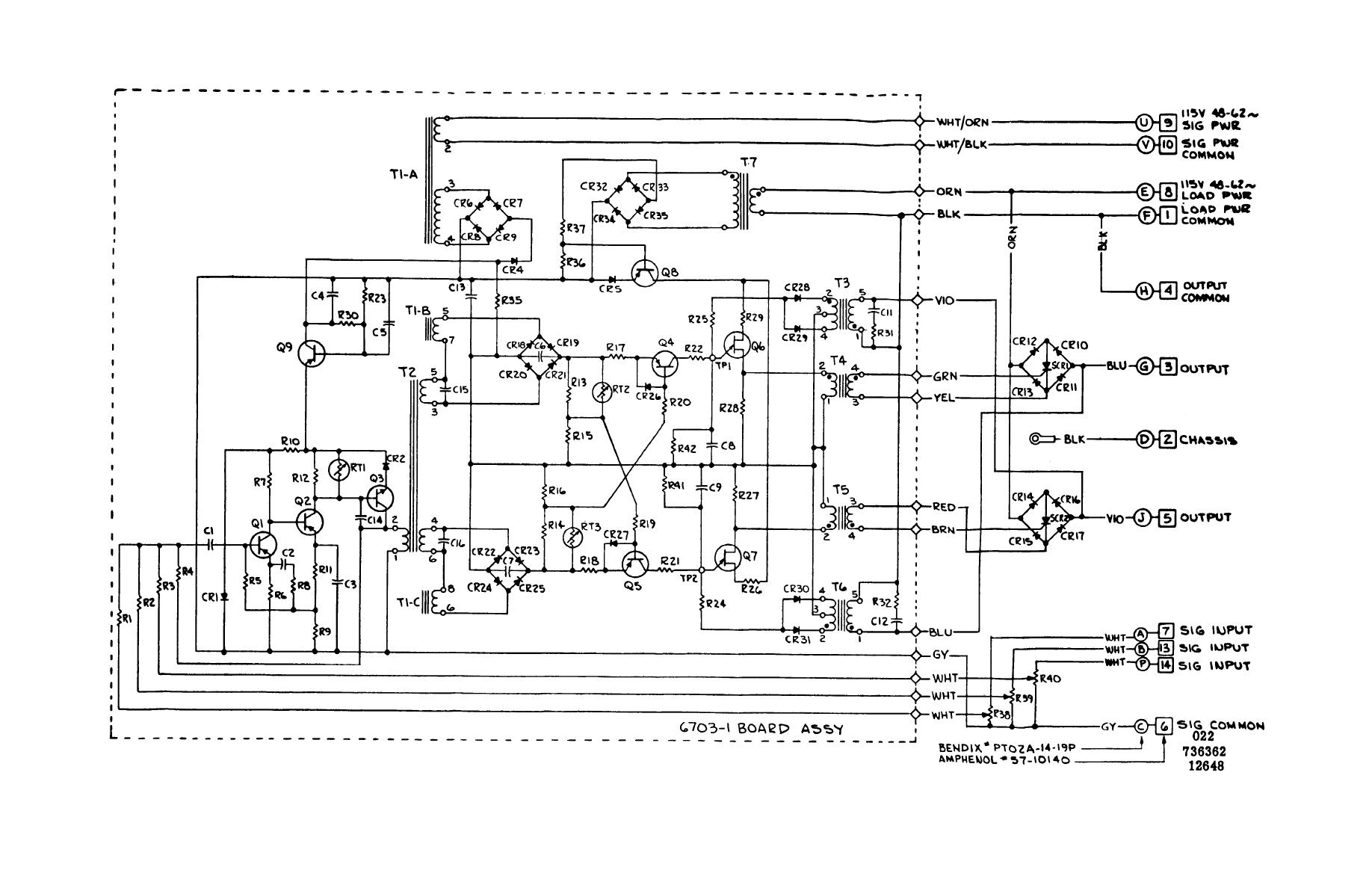 Train Air Conditioner Schematic