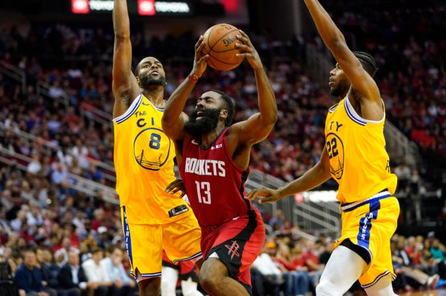 Les Warriors battus à Houston, Gobert et le Jazz font chuter Philadelphie 1