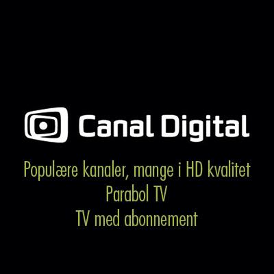 Canal Digital Tv Pakker