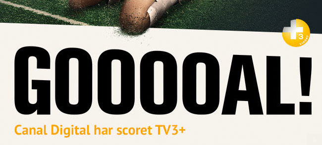 Breaking News : Canal Digital Har Scoret TV3+