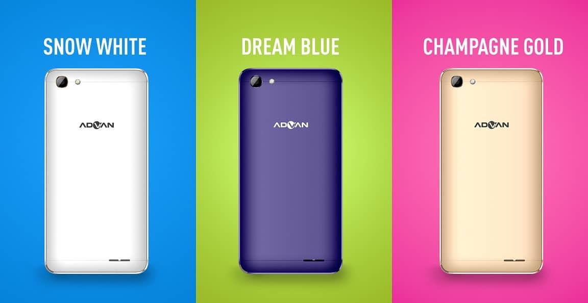 Harga Advan i5C Duo, Spesifikasi Smartphone Indonesia