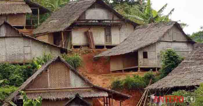 Tetap Kokoh Saat Gempa Banten, Ini Rahasia Rumah Suku Baduy