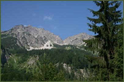 Massive Bergwelt