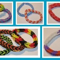 antetanni...freut sich...Rainbow-Loom-Armband
