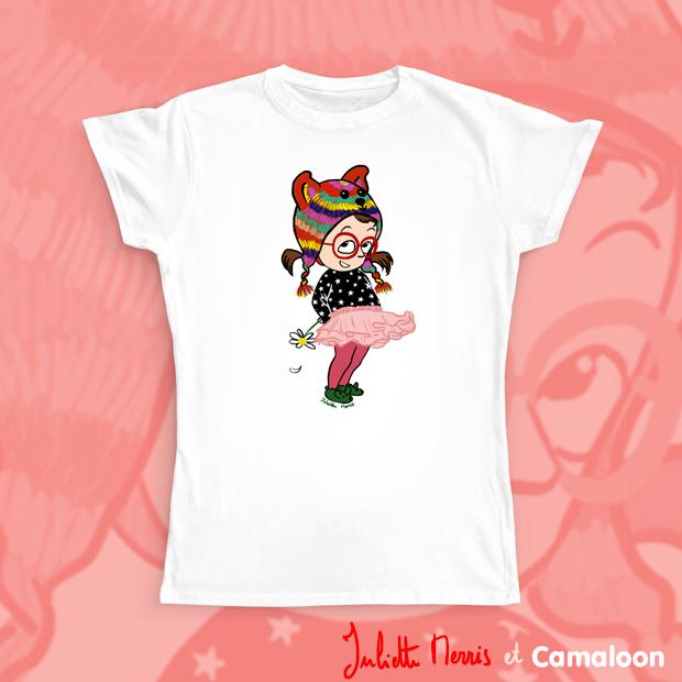 T-shirt juliette merris camaloon