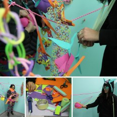 Zena Segre, final work and participatory critique for Craft and Feminist Methods, California College of Art, 2012.