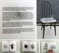 Emilia Michalsdotter Andersson, final work for OCAD University Book Arts 2014.