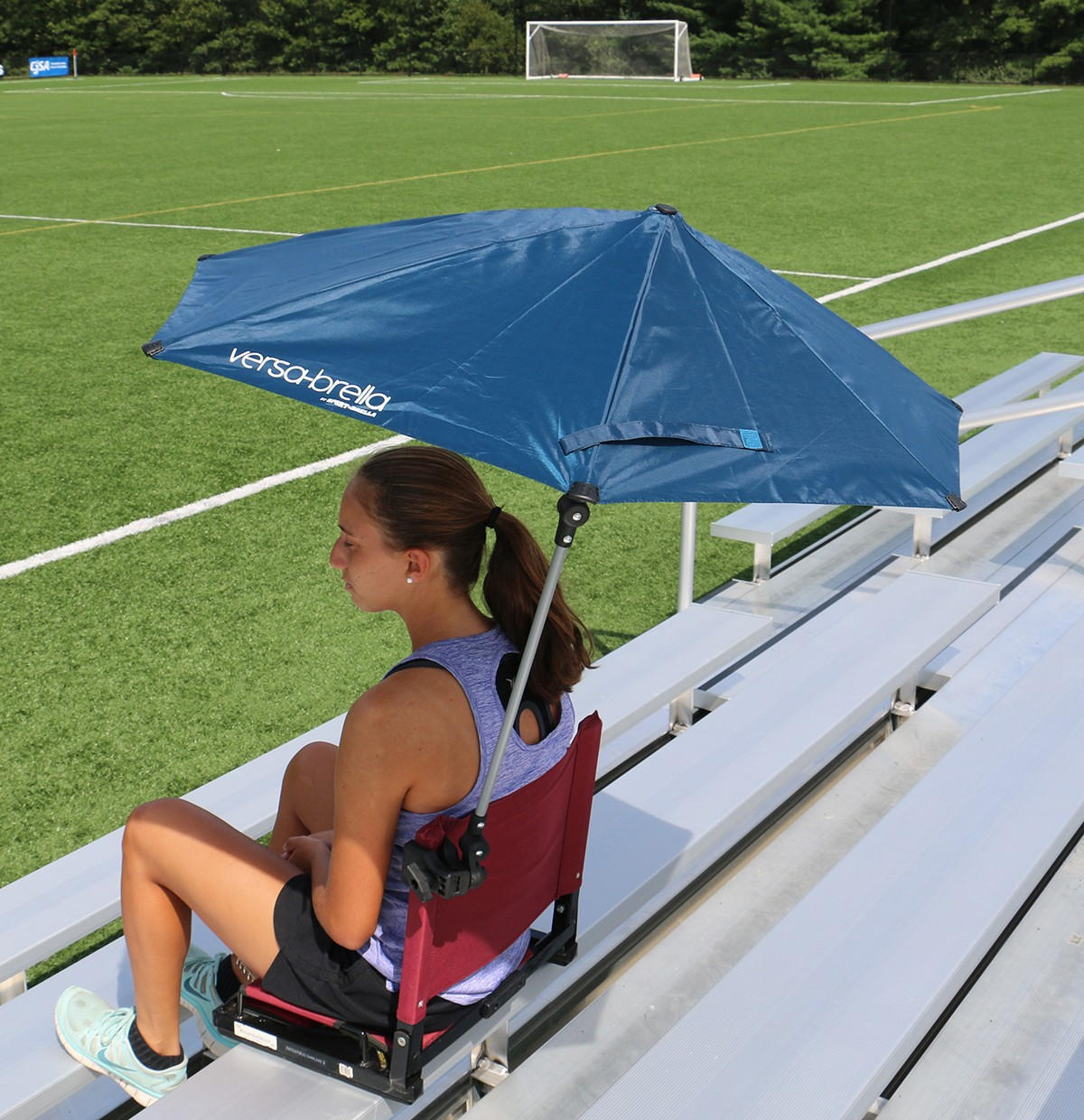 Chair With Umbrella Stadium Chair Bleacher Seat Wsc2 Deluxe Model 3