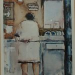After John Knapp Fisher - Interior scene, Limited edition print. Sold at Anthemion Auctions for £50