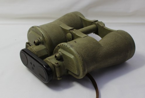 A pair of WWII U Boat binoculars. Sold for £1,750 at Anthemion Auctions