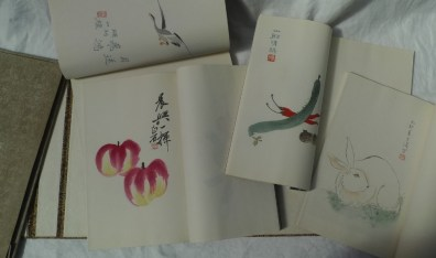 Set of eleven 20th century Chinese prints of boys at play together with four bound volumes of various prints of famous 20th century artists. Sold for £1,750 at Anthemion Auctions