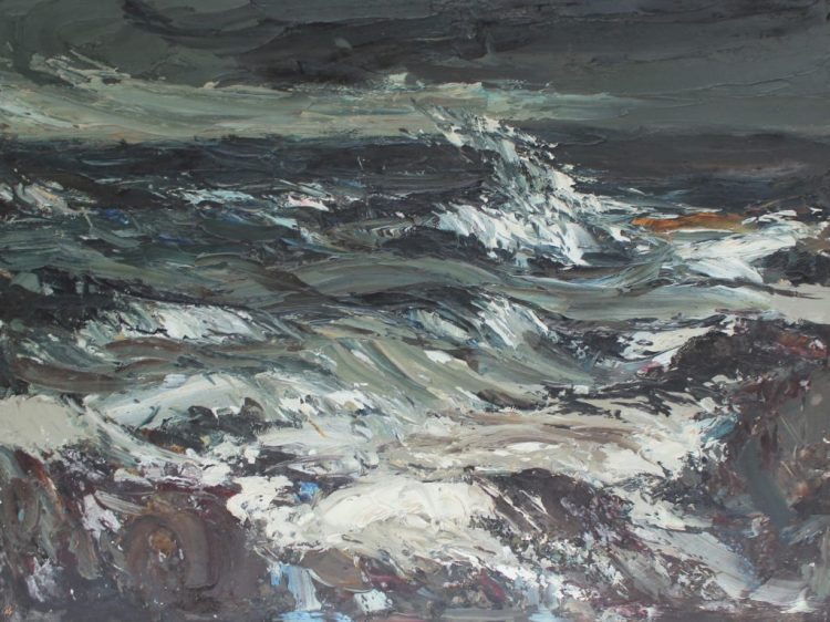Donald McIntyre, Mor Mawr, Oil on board sold for £1,250 by Anthemion Auctions