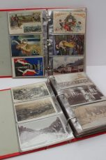 A collection of circa 55 advertising postcards for Fry's cocoa & Fry's milk chocolate. Sold for £410 at Anthemion Auctions