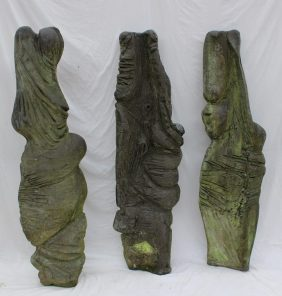 Peter William Nicholas, F.R.B.S. A.R.C.A. (1934-2015) - Three standing stones, Fibreglass 159cm high. Sold for £360 at Anthemion Auctions