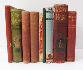 Professor Hoffman, Magical titbits, 1911, together with more magic, later magic and other books by the same author. Sold for £240 at Anthemion Auctions