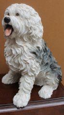 A Leonardo collection model of an Old English Sheepdog