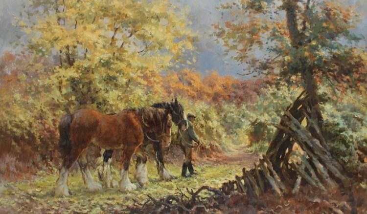 Rosemary Sarah Welch, Autumn Carpet – Lot 494