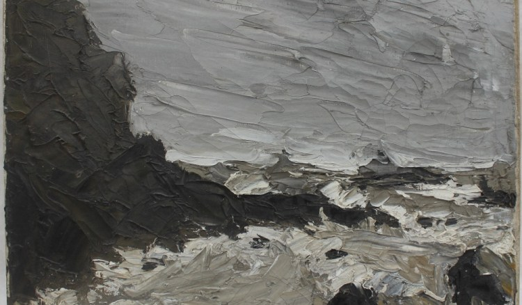 School of Sir Kyffin Williams A coastal scene – Lot 497