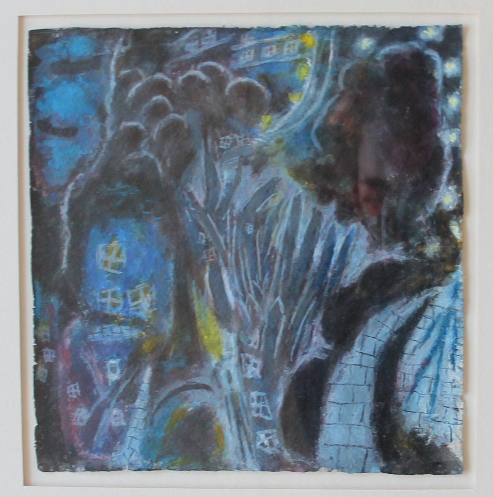 Ernest Zobole Painting about a landscape No.7 Estimated at £800-1200