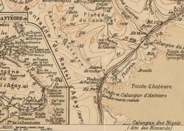 Carte Martel 1895