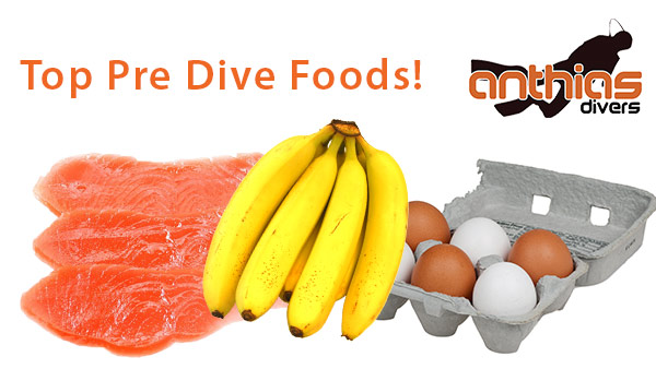 10 Top Foods To Take Before Diving