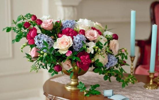 ιδέες για διακόσμηση με λουλούδια