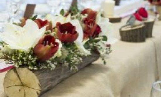 Στολισμός γάμου στο σπίτι τα Χριστούγεννα