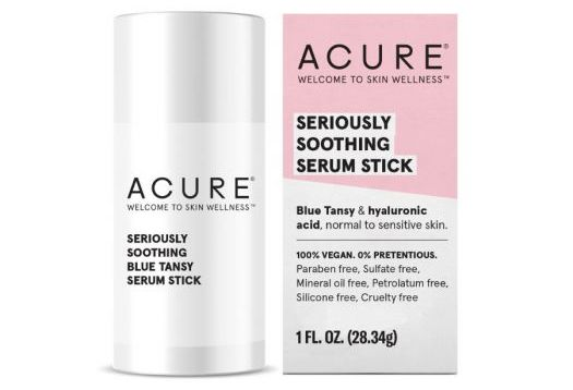 Format solide Seriously soothing blue tansy serum stick ACURE
