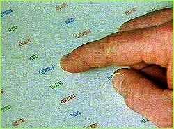 strooptestfinger