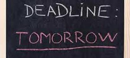 deadline-tomorrow