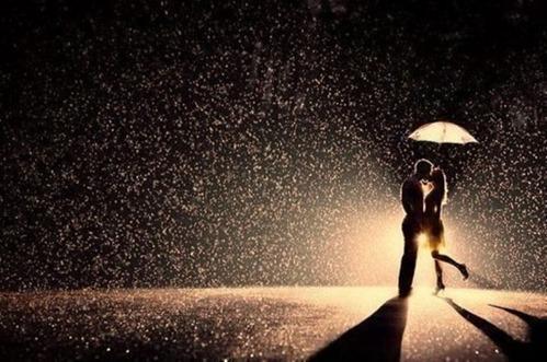love-in-rain