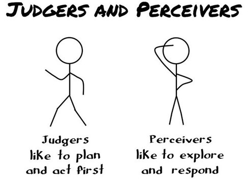 judgers-perceivers