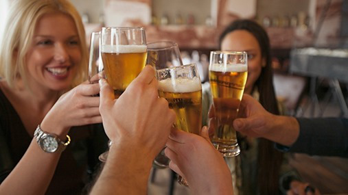drinking-bier