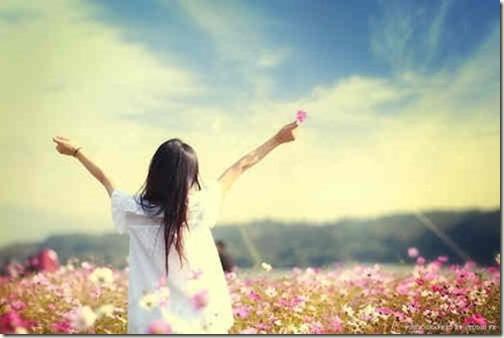 cute-flowers-free-girl-happy
