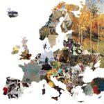 Ο πιο όμορφος χάρτης της Ευρώπης με τα 44 πιο εμβληματικά έργα τέχνης κάθε χώρας