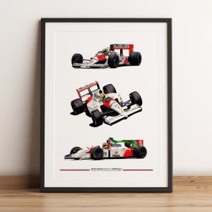 Ayrton Senna - McLaren - Medley